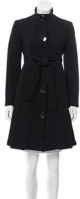 Michael Kors Wool Knee-Length Jacket
