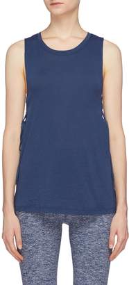 Beyond Yoga 'Starcrossed' lace-up side tank top