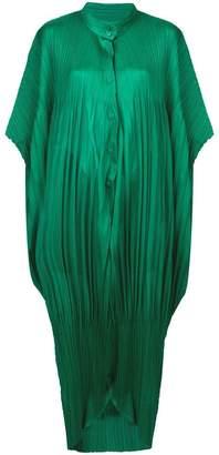 Pleats Please Issey Miyake oversized pleated jumpsuit