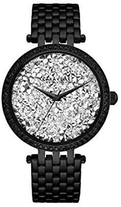Bulova Women's Quartz Stainless Steel Casual Watch, Color:Black (Model: 45L160) $73.71 thestylecure.com