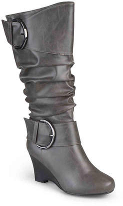 Journee Collection Meme Wedge Boot - Women's