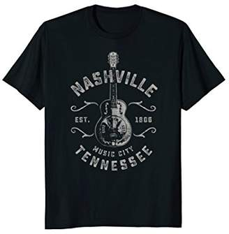 Nashville Music City USA Vintage T-shirt