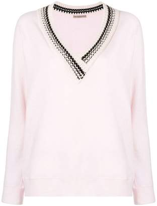 Ermanno Scervino V neck sweater