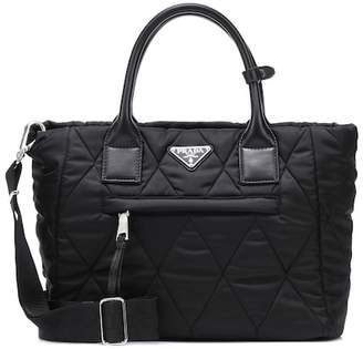 Prada Quilted nylon tote