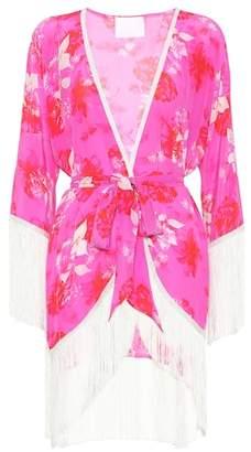 Athena Procopiou Sundown Breeze floral silk kimono