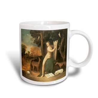 Circe 3dRose and her Lovers in a Landscape by Dosso Dossi, Ceramic Mug, 11-ounce