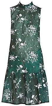 Erdem Women's Nena Embroidered Lace Dress