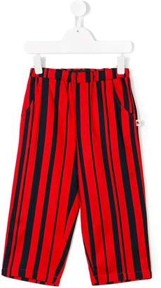 Mini Rodini odd stripe woven trousers