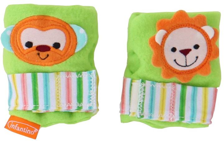 Infantino squeeze & soothe hand rattles