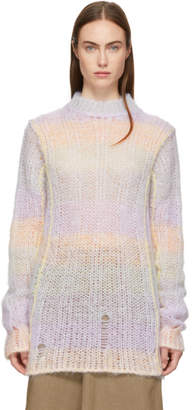 Acne Studios Multicolor Open Weave Sweater