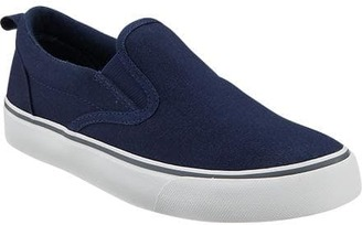 Boys Canvas Slip-Ons $19.94 thestylecure.com