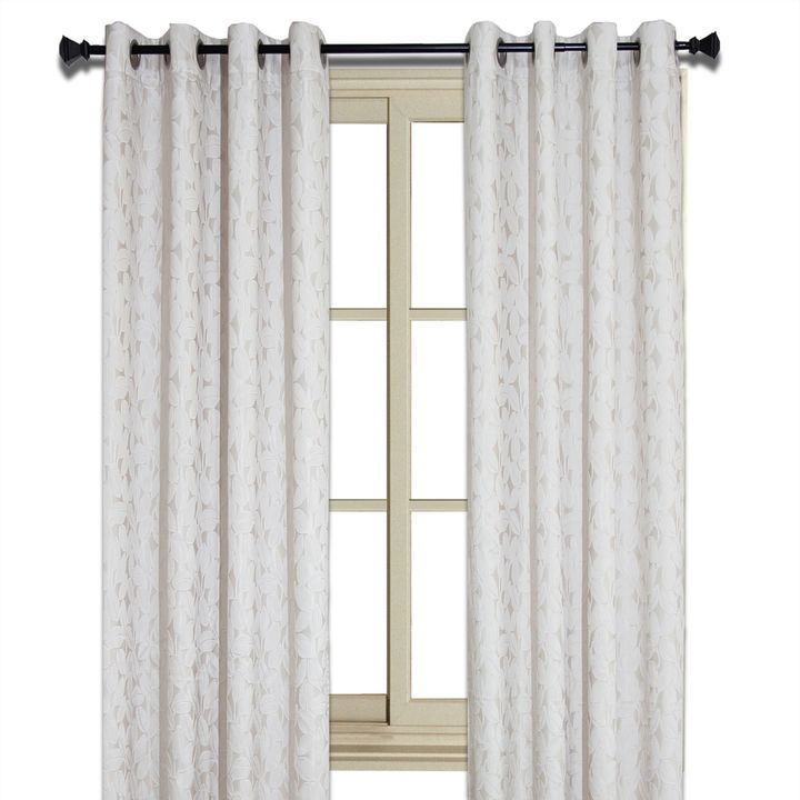 bed bath and beyond curtains for living room bed bath amp beyond jacquard leaf room darkening 28130