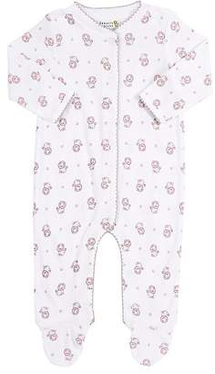 Barneys New York Infants' Lion-Print Footed Coverall