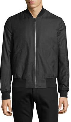 Paul Smith Zip-Up Wool Bomber Jacket