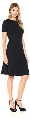 Ellen Tracy Women's Seamed Knit Dress