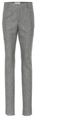 Saint Laurent Glen plaid wool pants