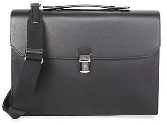 Dunhill Cadagan Flap Leather Briefcase
