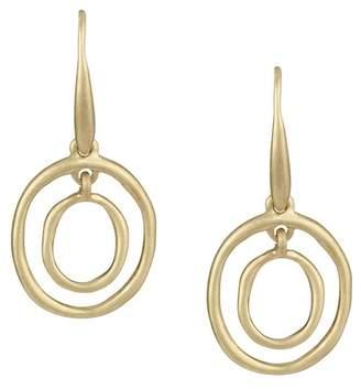 The Sak Mini Oval Orbit Dangle Earrings