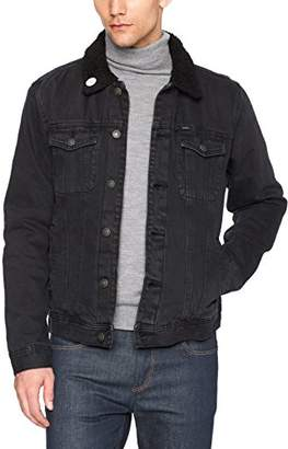 Obey Men's Off The Chain Regular Fit Denim Jacket