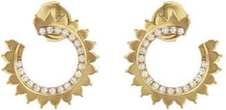 Vendome Aoyama Nouvel Heritage Hoop Earrings - Yellow Gold