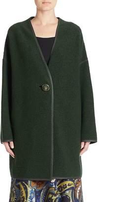 Lafayette 148 New York Women's Wool-Blend One-Buttoned Coat
