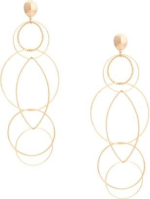 Gas Bijoux Torsade multi hoop earrings