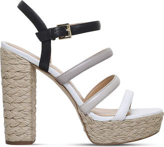 c8137a09b93a at Selfridges · MICHAEL Michael Kors Nantucket platform espadrille sandals
