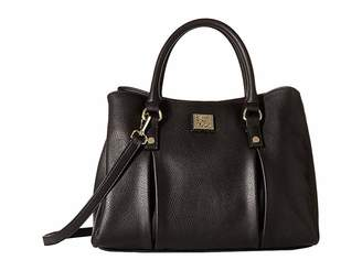 Anne Klein Soft Folds Satchel