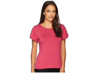 Vince Camuto Bubble Sleeve Top Women's Clothing