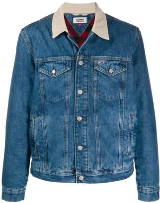 Tommy Jeans contrast collar denim jacket