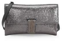 Brunello Cucinelli Broken Glass Leather Wallet