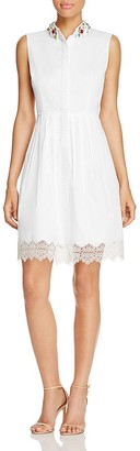 Elie Tahari Samiyah Embellished Dress $348 thestylecure.com