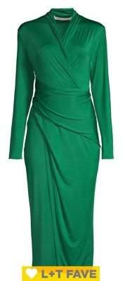 Rachel Roy Bret Long-Sleeve Wrap Dress