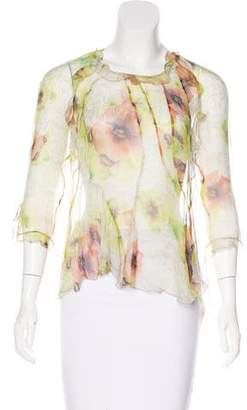 Isabel Marant Sheer Silk Blouse