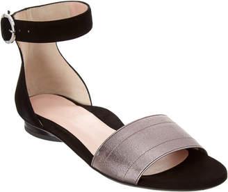 Taryn Rose Collection Donati Suede Sandal