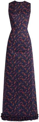 THE VAMPIRE'S WIFE Mermaid floral-print cotton dress