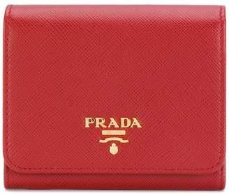 Prada trifold wallet