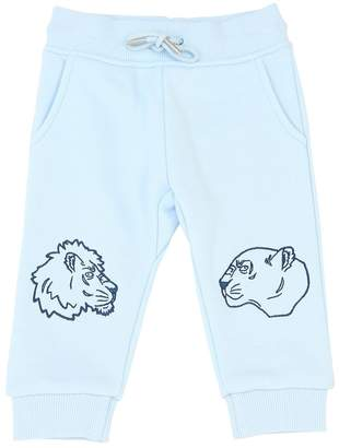 Kenzo Embroidered Cotton Sweatpants
