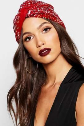 boohoo Halloween Premium Embellished Gypsy Hat