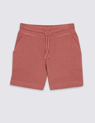 Marks and Spencer Pure Cotton Shorts (3 Months - 7 Years)