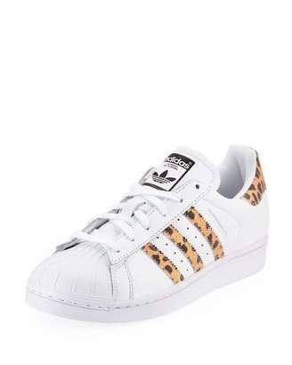 adidas Superstar Leopard Sneakers