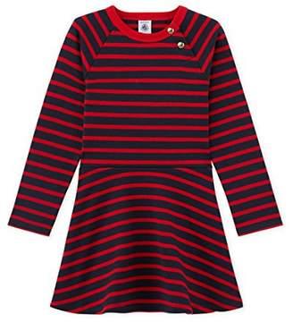 Petit Bateau Girl's Robe ml SMO/Fr Dress,(Manufacturer Size:8A 8Ans)