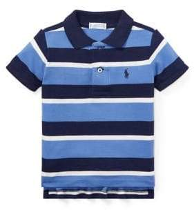 Ralph Lauren Childrenswear Boy's Short-Sleeve Stripe Polo