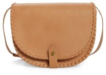 Madewell Whipstitch Saddle Bag - Brown