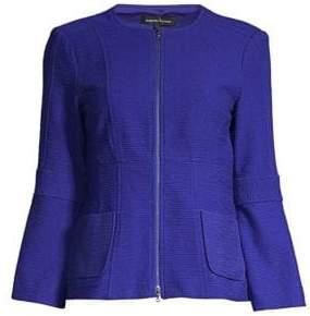 Nanette Lepore Women's Bell Sleeve Jacket - Black - Size 0