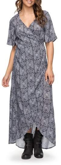 Roxy Keep the Tempo Wrap Dress
