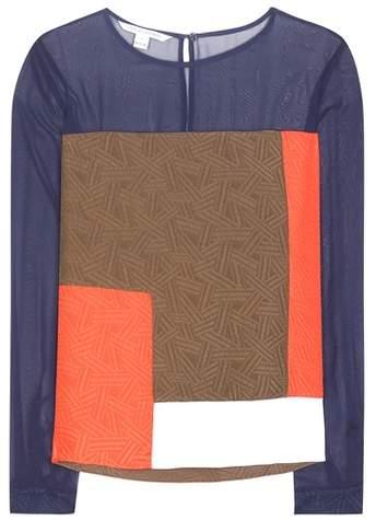Diane von Furstenberg Raegan silk blouse