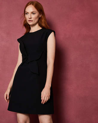 Ted Baker PPOLLYD Cap sleeved structured bow dress