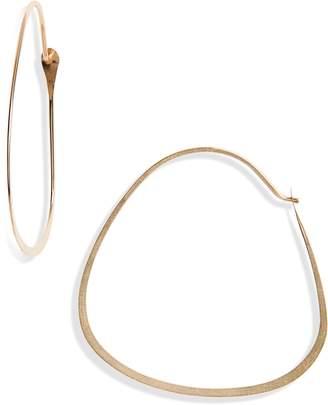 Melissa Joy Manning Triangle Hoop Earrings