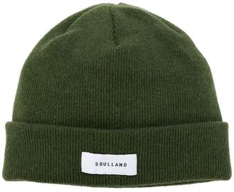 Soulland Villy logo beanie